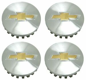 Chevrolet Silverado Tahoe 1500 Truck Center Caps Wheel Factory Oem Set 4 3 25