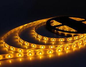 Led Strip Light Waterproof Yellow 5m 300led For Boat Truck Car Suv Rv