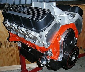 Chevy 496 625 Horse Stroker Street strip Crate Engine Pro built new 427 454