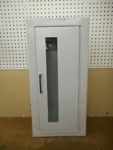 Larsen s Fire Extinguisher Cabinet Wall Mount With Window New Old Stock