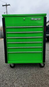 Green Snap On Tool Box Cart Nice Matco Craftsman Cornwell Mac Snapon Snap On
