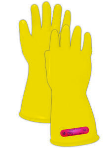 Magid A r c M01 Class 0 Yellow Rubber Electrical Insulating Gloves