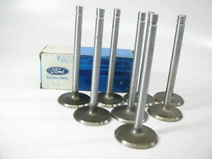 8 New Oem Ford D4tz 6507 a Engine Intake Valve 1961 1976 352 390 410 428 v8