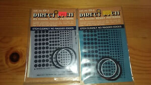 Lot Of 2 Datak Nos Direct Etch Dry Transfer Circuit Board Resist Patterns Er 2