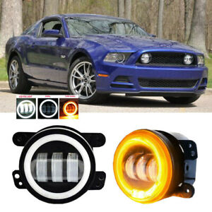 For Ford Mustang 05 14 Clear Lens Pair Bumper Fog Light Lamp Oe Replacement Dot
