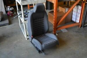 2007 Volkswagen Golf Gti Left Driver Side Front Seat Manual Dark Gray Cloth