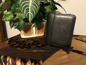 Black Leather Case With Notepad