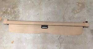 Bmw X5 E53 Oem Trunk Cargo Cover Luggage Panel Rear Blind Beige 51477122026