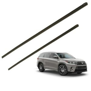 2014 2019 Highlander Wiper Blade Inserts Front Rubber Replacement Genuine Toyota