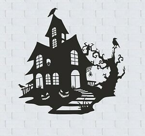 Dxf Cdr Halloween Laser Cut File For Router Plasma Laser Cut Machin Ready To Cut