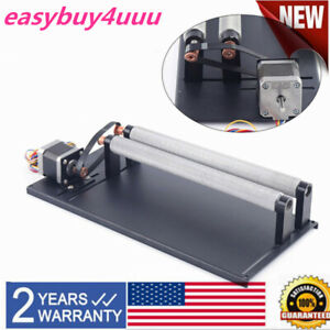 Rotary Cnc Attachment Roller Axis For Co2 Laser Engraver Machine Rotation Axis