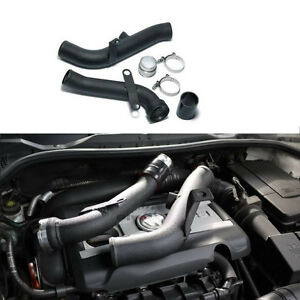 Aluminum Turbo Discharge Pipe Conversion Kit For Vw Golf Gti Mk5 Audi Tt A3 2 0t