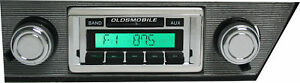 1968 1969 Oldsmobile Cutlass 442 Am Fm Stereo Radio Usa 230 200 Watts Aux Input