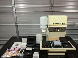 Tomtec Quadra 96 Model 320 6 station Automated Shuttle 196 320 With Software