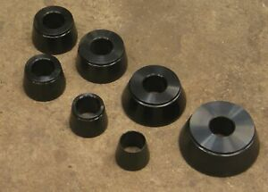 Hunter Spin Balancer Low Profile Centering Cone Set For 28mm Coats Wheel Tire