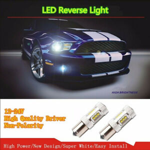 1156 Led Auto Bulbs Ba15s 80w Yellow Backup Reverse Lights Tail Turn Signals Us