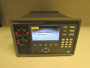 Fluke 2638a 05 120 Hydra Series Iii 22 channel Data Acquisition System W Module