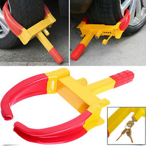 Wheel Lock Clamp Boot Tire Claw Car Truck Rv Trailer Anti Theft Towing Us 2019