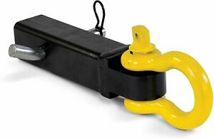 9500lbs Shackle Clevis 2 Hitch Receiver Recovery D ring