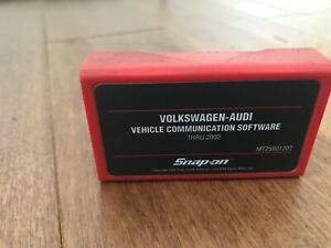 Snap On Vw Audi Communication Software Cartridge Thru 2002