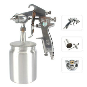 Air Compressor Paint Spray Gun Car Diy Gravity Feed Sprayer 1 5mm Nozzle 600cc