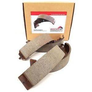 Trail Rated Rear Ceramic Brake Shoes For Toyota Tacoma 2wd Or 4wd