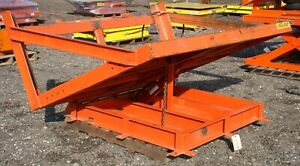 Knight 1000 Lb Hydraulic Tilting Lift Table Large Deck