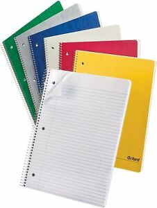 Oxford 1 subject Notebook 9 X 11 College 25 009r