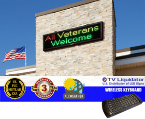 69 X 20 Outdoor Programmable Led Signs Ul Met Csa Fcc Tv Liquidator