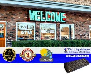 85 X 20 Outdoor Programmable Led Signs Ul Met Csa Fcc Tv Liquidator