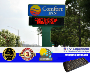 119 X 20 Outdoor Programmable Led Signs Ul Met Csa Fcc Tv Liquidator