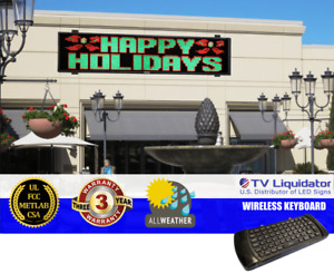 168 X 36 Outdoor Programmable Led Signs Ul Met Csa Fcc Tv Liquidator