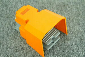 Heavy Duty Foot Switch Pedal Momentary With Guard Cast Aluminum 15a 250vac Spdt
