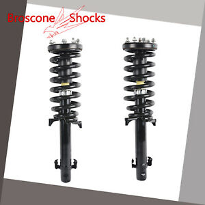 For 2008 2009 2010 2011 2012 Honda Accord Front Pair Complete Shocks