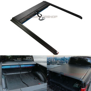 Bed Retractable Roll Up Hard Tonneau Truck Cover Lock For Ford F 150 5 5ft 10 20