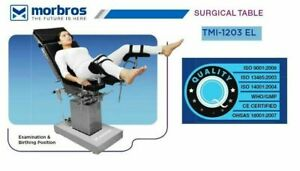 Tmi 1203 El Ot Table Operation Theater Surgical General Surgery Table