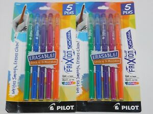 Pilot Pens Frixion Color Sticks Assorted Gel Ink Two Packs