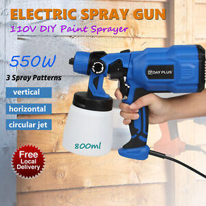 Electric Paint Sprayer Spray Gun For Painting Fences Decking Walls Ceiling Car