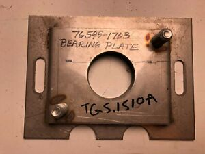 New Odb Tgs 1600md Salt Spreader Bearing Plate Tgs 1510a Stainless Steel Tailgat