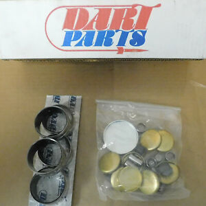 Dart Sb Ford Iron Hdw Kit Coated Cam Bgs Brass Soft Plugs Dowels Plugs