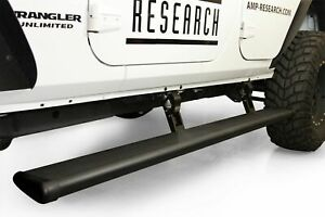 Amp Research Powerstep Electric Running Boards 18 20 For Jeep Wrangler 4 Door Jl