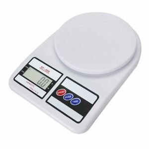 10kg 1g Kitchen Mail Packaging Shipping Postal Scale Lcd Digital Scale White