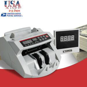 Automatic Money Bill Counter Counting Equipment Counterfeit Detector Uv Mg Fda