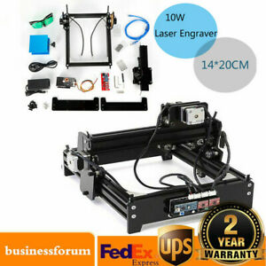 Usb Engraver 10w Diy Desktop Cnc Engraver Metal Laser Cutter Engraving Machineus
