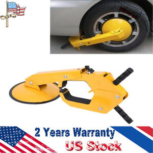 Wheel Lock Clamp Boot Tire Claw Auto Car Truck Rv Boat Trailer Anti theft Towing