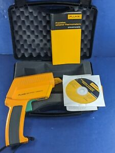 Fluke 572 Ir Thermometer Excellent Hard Case