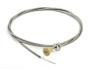 1940 1941 1942 Dodge Desoto Chrysler Plymouth New Hood Cable With Knob Mopar