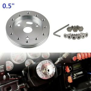 Steering Wheel Hub Adapter Spacer Boss Kit For 6 Hole Fit Grant Apc Pilot 3 Hole