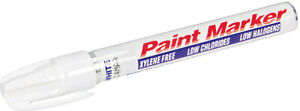 Tire Paint Marker White Oil Based Long Lasting Weather Water Uv Resistant
