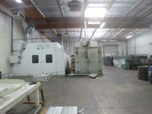 Spray tech Paint Booth With Solvent Storage Room 30 l X 20 w X 12 6 H Od